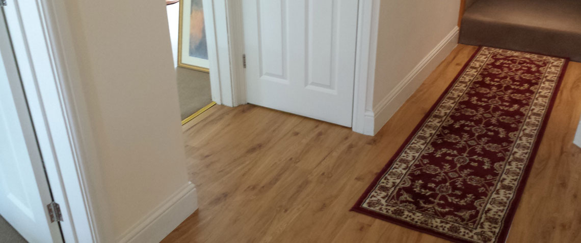 Supply and fit of carpets, laminates and vinyl